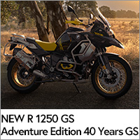 NEW R 1250 GS Adventure  Edition 40 Years GS